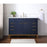 Stufurhome Alisson Dark Blue 48 inch Single Sink Bathroom Vanity myhomeandbath
