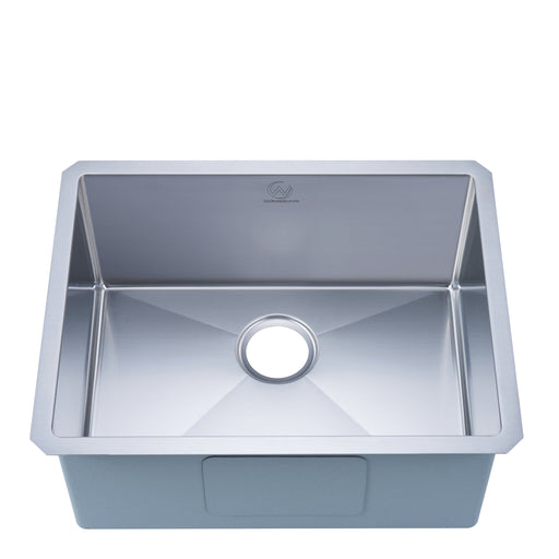 Stufurhome 18-gauge Undermount Stainless Steel 23 in. Single Bowl Kitchen Sink