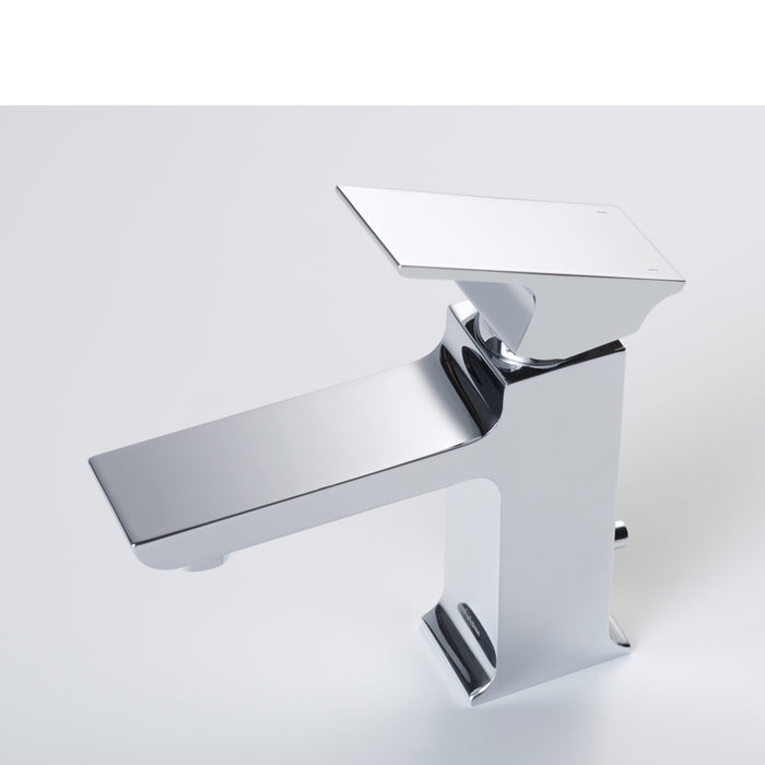 Adler Single Hole Faucet in Chrome myhomeandbath