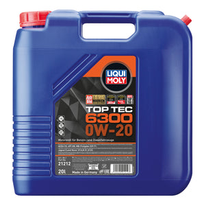 LIQUI MOLY ENGINE OIL - TOP TEC 6300 0W-20 - DanVolt Online