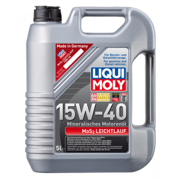 MoS2 LOW-FRICTION 15W-40