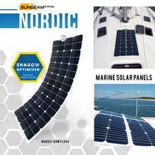 Load image into Gallery viewer, SUNBEAM system NORDIC Flush Solar Panel - DanVolt Online