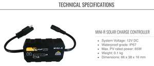 SUNBEAM system MINI-R Solar Charge Controller - DanVolt Online