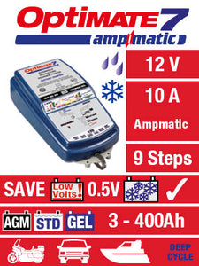 OptiMATE - Start/Stop, Battery Saving charger-tester-maintainer with UK plug. - DanVolt Online
