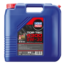 Load image into Gallery viewer, LIQUI MOLY TOP TEC 4300 5W-30