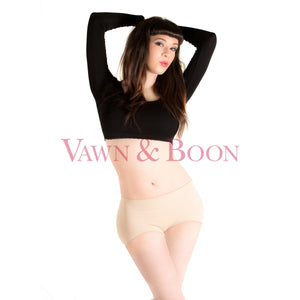 Vawn and Boon Juicy Booty Panties Mk2 Nude
