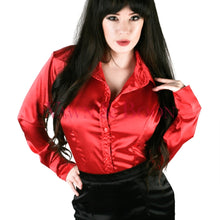Vawn-and-Boon-red-satin-crossdresser-blouse