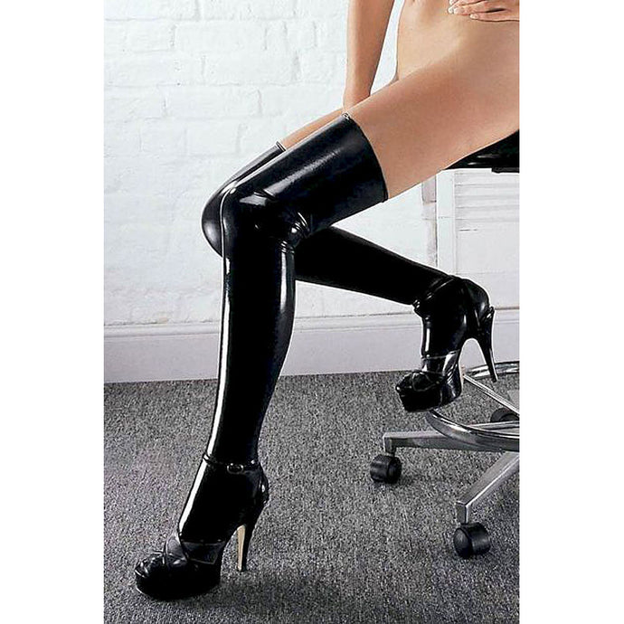 Sharon Sloane Latex Stockings