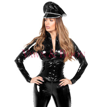 Vawn and Boon Black Thorax steel boned corset
