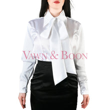 Vawn-and-Boon-white-satin-crossdresser-blouse