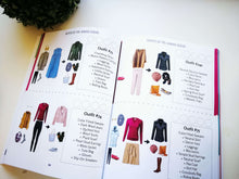 Load image into Gallery viewer, PRINT BOOK: The Stay at Home Mom Year-Round Outfit Guide (288 Outfits), Hard copy - 195 Pages