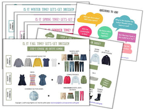 Family Bundle of Outfit Guides (Moms' + Dads' + Kids Guides) - Save 40%
