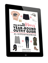 Load image into Gallery viewer, (2nd Edition) The Stay-at-Home Moms' Year-Round Outfit Guide