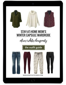 The Stay-at-Home Moms' Winter Outfit Guide (eBook)
