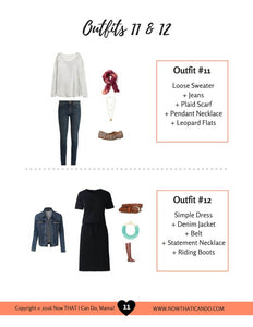 The Stay-at-Home Moms' Fall Outfit Guide (eBook)