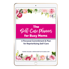 Load image into Gallery viewer, The Self-Care Planner for Busy Moms