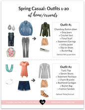 Load image into Gallery viewer, The Stay-at-Home Moms' Spring & Summer Outfit Guide (eBook)