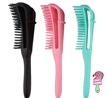 Load image into Gallery viewer, Detangle Hairbrush/Anti Knot Comb