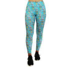 Load image into Gallery viewer, Good Vibes (Mr Happy) Women's Leggings