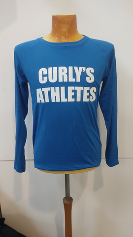 Curly's Athletes long sleeve technical team training top
