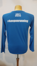 Load image into Gallery viewer, Curly's Athletes long sleeve technical team training top