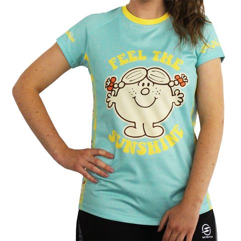 Little Miss Sunshine technical running t-shirt & vest