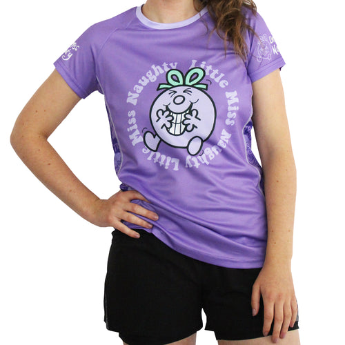 Little Miss Naughty technical running t-shirts & vests