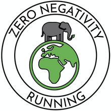 Load image into Gallery viewer, Signature Premium Unisex T - Zero Negativity Running (new in!)