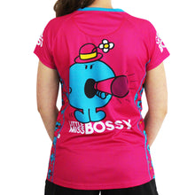 Load image into Gallery viewer, Little Miss Bossy technical running t-shirts & vests
