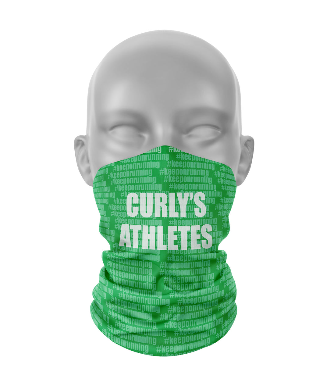 Curly's Athletes running neck warmer