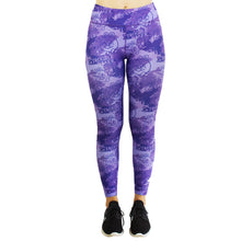 Load image into Gallery viewer, Little Miss Trouble Maker Women's Leggings (funky purple & pink options)