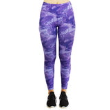 Little Miss Trouble Maker Women's Leggings (funky purple & pink options)