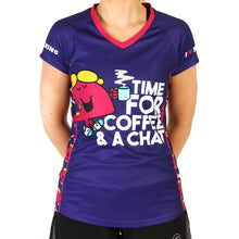 Load image into Gallery viewer, Little Miss Chatterbox technical running t-shirts & vests