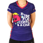 Little Miss Chatterbox technical running t-shirt & vest