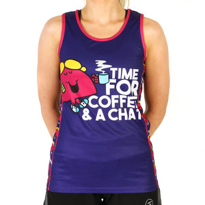 Little Miss Chatterbox technical running t-shirts & vests