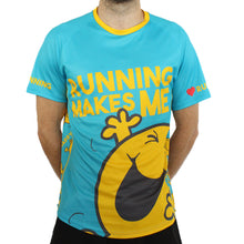 Load image into Gallery viewer, Mr Happy technical running t-shirts & vests