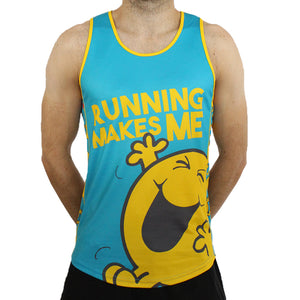 Mr Happy technical running t-shirts & vests