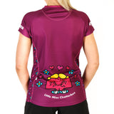 Little Miss Chatterbox 'speed-walker' technical running t-shirt