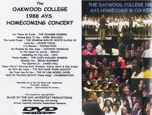 1988 Oakwood Homecoming AYS Concert