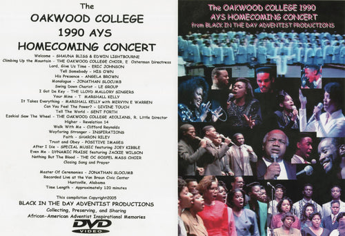 1990 Oakwood Homecoming AYS Concert