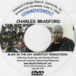 Charles Bradford - 1990 Oakwood College Commencement