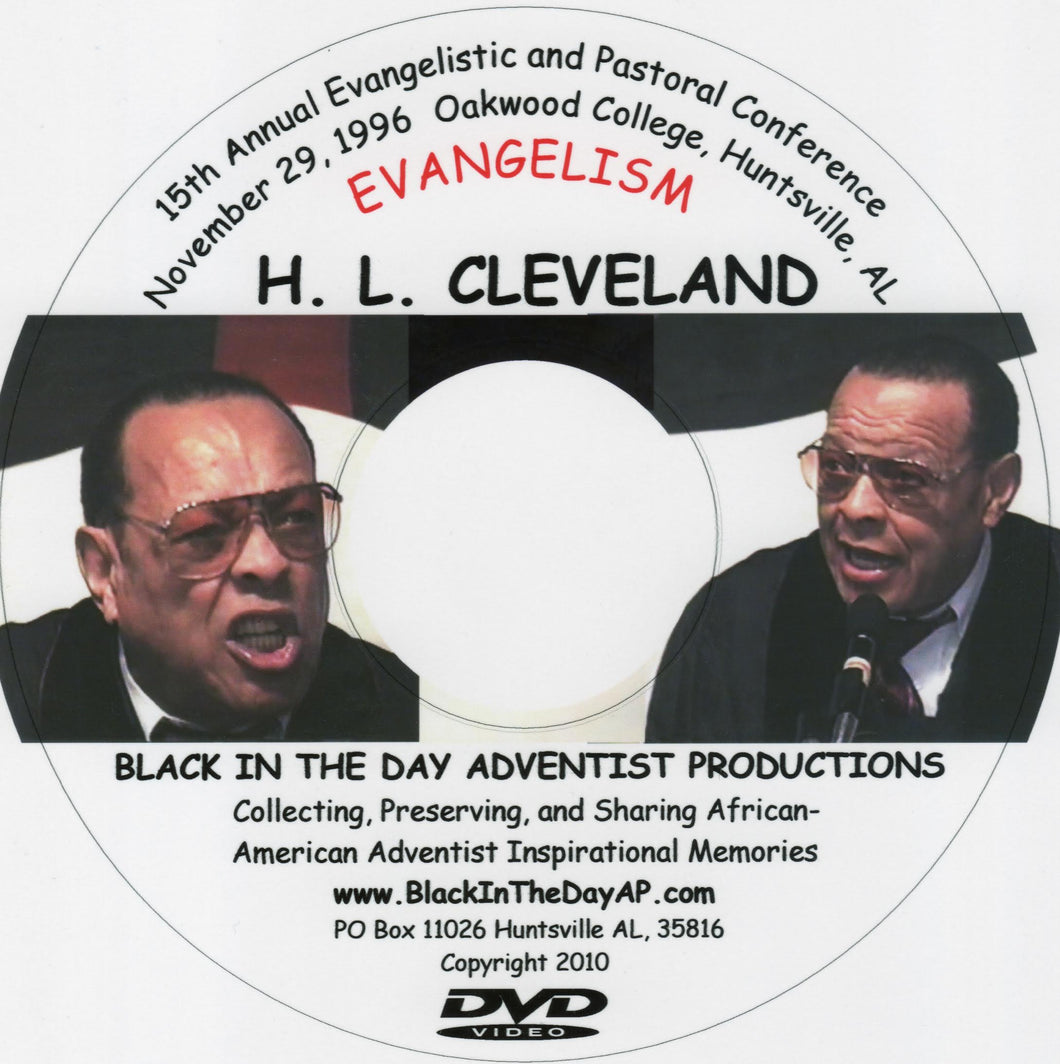 H. L. Cleveland - 15th Annual Evangelistic and Pastoral Conference