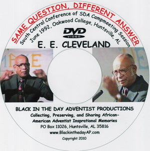 "Earl E. Cleveland - ""Same Question, Different Answer"""