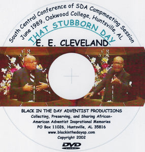 "Earl E. Cleveland - ""That Stubborn Day"""