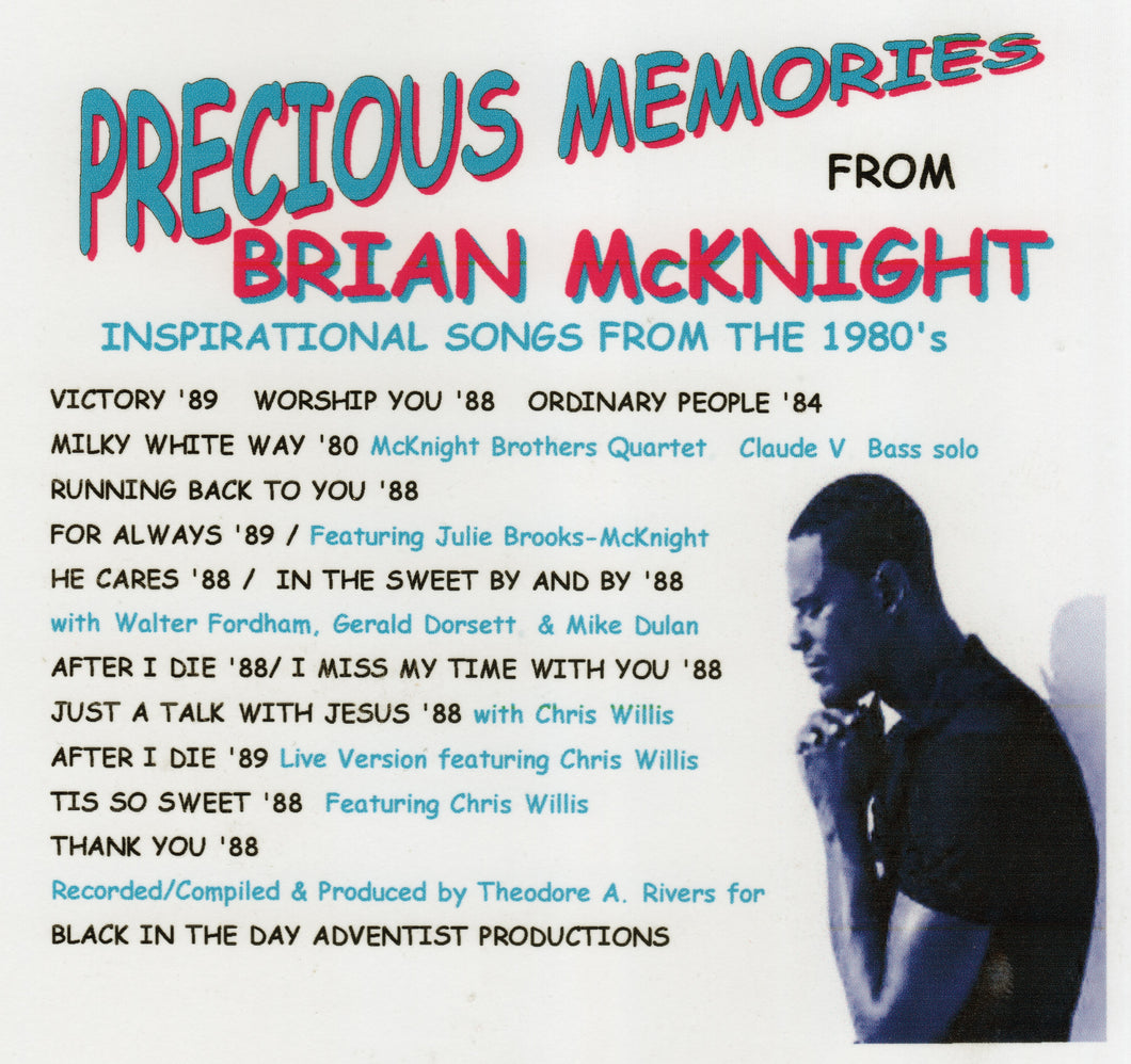 Precious Memories from Brian McKnight