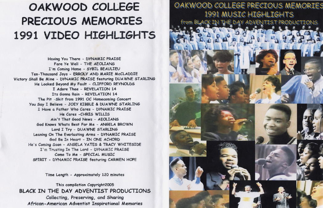 1991 Oakwood College Precious Memories Highlights