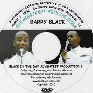 "Barry Black - ""One More Night With The Frogs"""