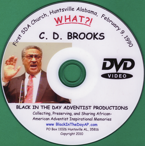 "C. D. Brooks - ""WHAT?"""