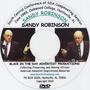 Sandy Robinson - Campmeeting June 1989