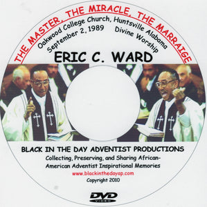 "E. C. Ward - ""The Master, The Miracle, The Marriage"""